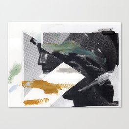 Untitled (Painted Composition 2) Canvas Print