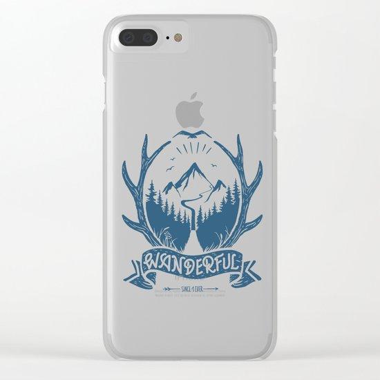 wanderful! Clear iPhone Case