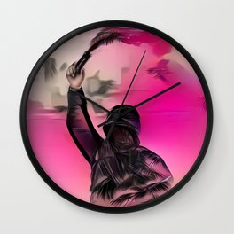 Torch Wall Clock