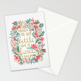Little & Fierce Stationery Cards