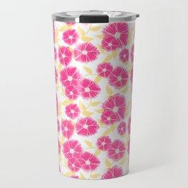 12 Sketched Mini Flowers Travel Mug