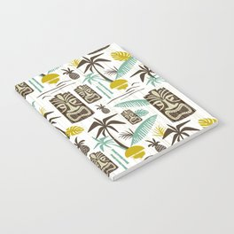 Island Tiki - White Notebook