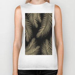 Palm Leaves - Gold Cali Vibes #4 #tropical #decor #art #society6 Biker Tank