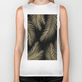 Palm Leaves - Gold Cali Vibes #4 #tropical #decor #art #society6 Biker Tank