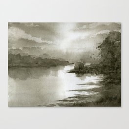 A Splash of Sepia Canvas Print