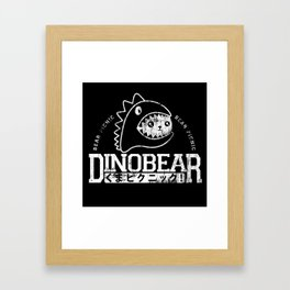 Vintage Dinobear Framed Art Print