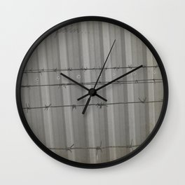 This fear bring pain Wall Clock
