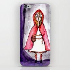 Little Red Ridding Hood iPhone & iPod Skin