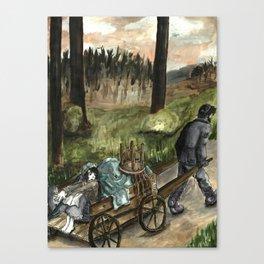 Tzeitel and the Woods, No. 49 Canvas Print