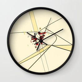 Phase Shifted Drift Wall Clock