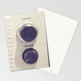"on the radio... ""ANALOG zine""  Stationery Cards"