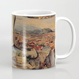 Oriental railways to Constantinople Coffee Mug