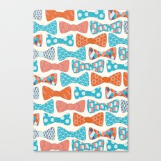 Geometric Bows Canvas Print