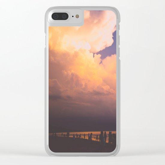 Summer Memories Clear iPhone Case