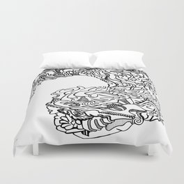 Surreal creation Duvet Cover