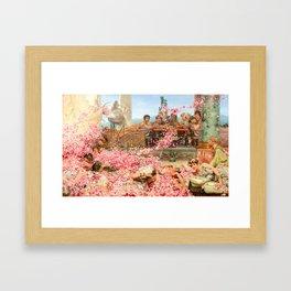 The Roses of Heliogabalus by Sir Lawrence Alma-Tadema Framed Art Print