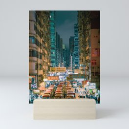 Mong Kok, Hong Kong Mini Art Print