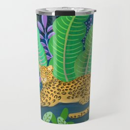 Jungle Leopard in the Evening Travel Mug