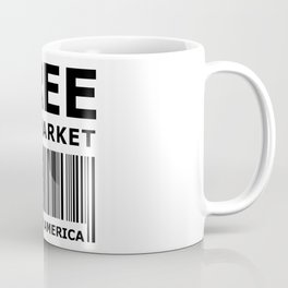 Free The Market Coffee Mug