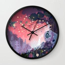 A Fleeting Respite Wall Clock
