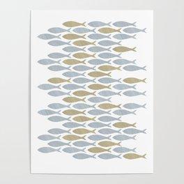 shoal of herring Poster