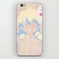 gurren lagann iPhone & iPod Skins featuring Minimalist Nia by 5eth