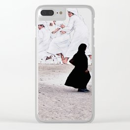Arabs crossing Clear iPhone Case