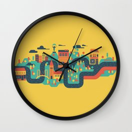 My capital Wall Clock