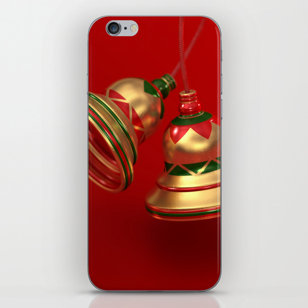 Ding Dong Iphone & Ipod Skin by Perrylcooper PSK8412522
