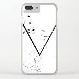V Sigil Clear iPhone Case