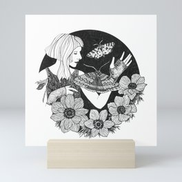 Daydreamer (Aurora Aksnes) Mini Art Print
