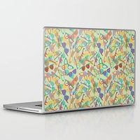 sunglasses Laptop & iPad Skins featuring Sunglasses by Laura Barnes