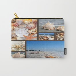 Seashell Treasures From The Sea Carry-All Pouch