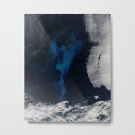 North Atlantic Aerial Photography Metal Print