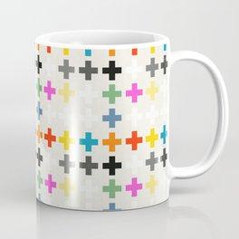 Cross Pattern Coffee Mug