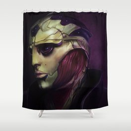 Mass Effect: Thane Krios Shower Curtain