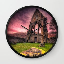 Valle Crucis Abbey Wall Clock