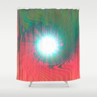 portal Shower Curtains featuring Portal by Pedro Moreno