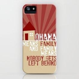 Ohana Means Family - Lilo & Stitch iPhone Case