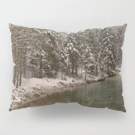 Picturesque Triglavska Bistrica River Pillow Sham