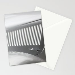 Classic Silver Vintage Automobile Stationery Cards