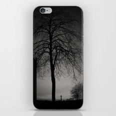 silhouette at Durham Cathedral iPhone & iPod Skin