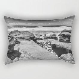 Winter At Windansea Rectangular Pillow