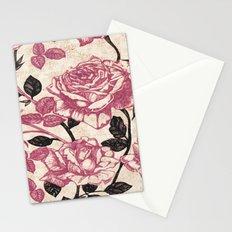 Toile de Jouy Rosas cálidas Stationery Cards