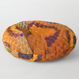 Rainbow Boa Floor Pillow