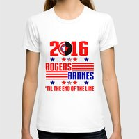 bucky barnes T-shirts featuring 2016 BARNES RODGERS by BethTheKilljoy