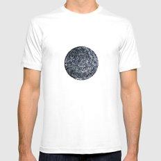 Black hole sun Mens Fitted Tee White MEDIUM