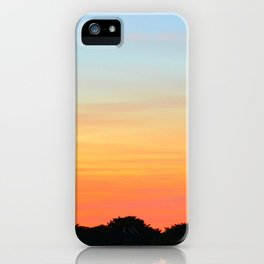 Sunset, Leith iPhone Case