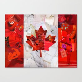 Oh Canada! Canvas Print