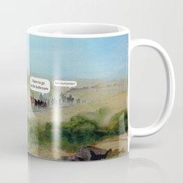 Travels with Kids Oregon Trail Theme Coffee Mug